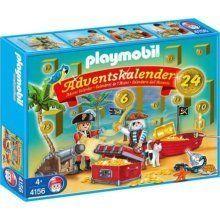 Playmobil 4156 Holiday Christmas Advent Calendar Pirates Accessories