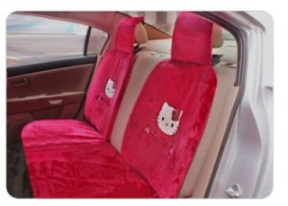 Hello Kitty Auto Car Seat Cushion Cover Accessories Set