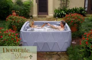Green Spa Hot Tub 5 Person 26 Jets 2 HP 2 Speed Pump Dreammaker x 500