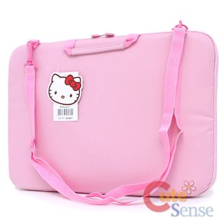 Sanrio Hello Kitty 16 Laptop Bag Pink Formed Briefcase Notebook Case