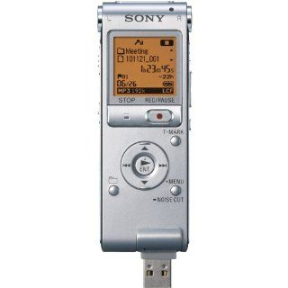 Sony ICD UX512 2 GB Flash Memory Digital Voice Recorder