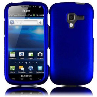 For Samsung Exhilarate i577 Hard Cover Case Blue Cell