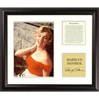 Marilyn Monroe   Red Halter   Framed 5 x 7 Photograph with
