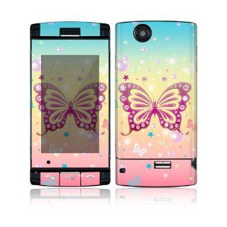 Butterfly Bling Decorative Skin Cover Decal Sticker for