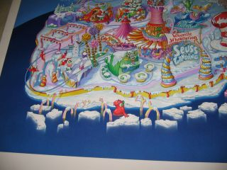 Amusement Park LARGE original art,Wayne Hovis 2000 Universal Studios