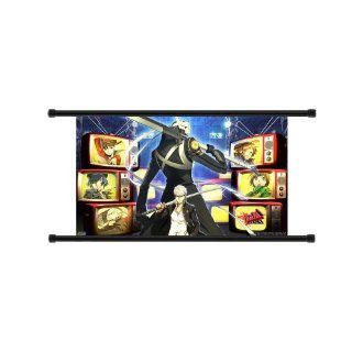 Shin Megami Tensei Persona 4 Anime Game Fabric Wall Scroll