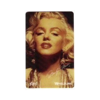 Marilyn Collectible Phone Card $20. Marilyn Monroe