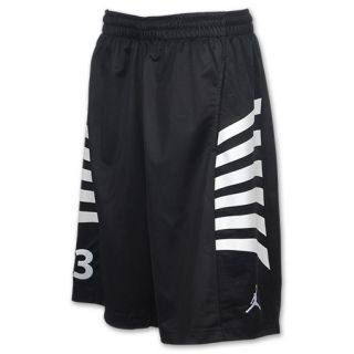 Jordan AJ12 Rays Mens Basketball Shorts Black