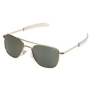 American Optical AO Original Pilot Sunglasses 52mm Gold