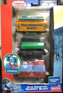 NEW Thomas and Friends TRACKMASTER BLUE MOUNTAIN QUARRY BLAST Carry