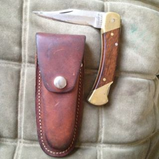 SCHRADE USA LB7 Uncle Henry w Case Folding Bear Paw Lockblade Lockback