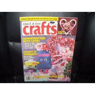 Quick & Easy CRAFTS Magazine FEBRUARY 1993 Everything