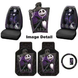 5PC Nightmare Before Christmas Jack Skellington Graveyard NBC Auto