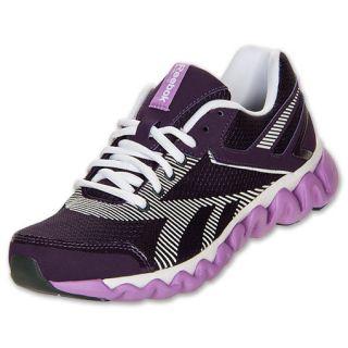 Womens Reebok ZigLite Electrify Dark Purple/White