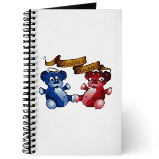 Journal (Diary) with Double Trouble Bears Angel and Devil