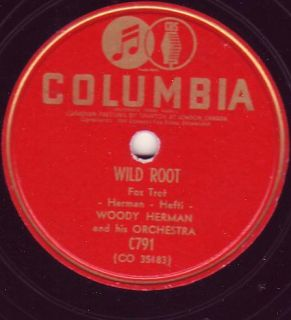 Woody Herman Wild Root Atlanta G A Columbia CDN