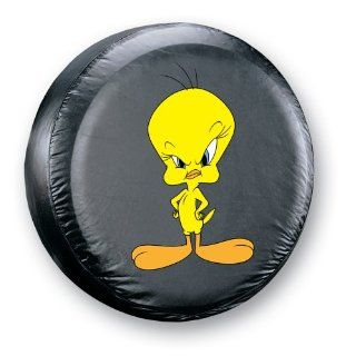 Serious Tweety Spare Tire Cover    Automotive