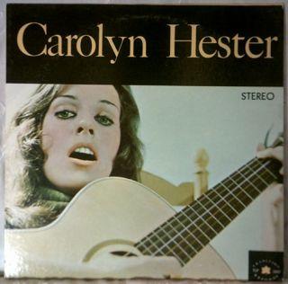 Carolyn Hester   Self Titled Album   1961   STEREO   Vinyl   LP
