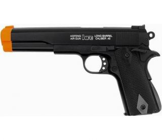 New HFC Airsoft Long Barrel M 1911 A1 Spring Hand Gun Pistol Sniper