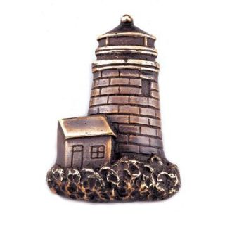 Solid Brass Hidden Lighthouse Door Bell Bronzed