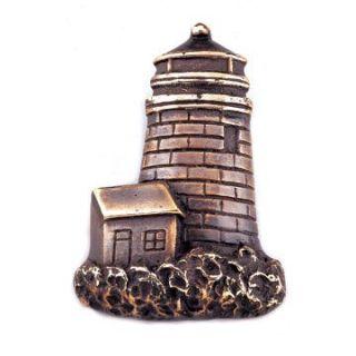 Solid Brass Hidden Lighthouse Door Bell Bronzed
