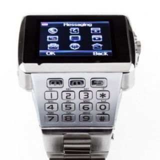 Dual SIM Hidden Camera Mobile Watch Phone WiFi Java Bluetooth FM