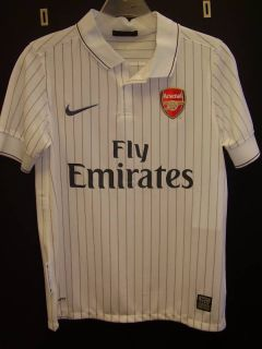 Nike Boys Arsenal Away Jersey White Size L
