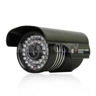 High Resolution CMOS 600TVL IR Day Night Indoor Outdoor Security CCTV