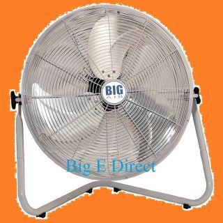 Industrial Multiple Uses High Velocity Portable Floor Shop Fan