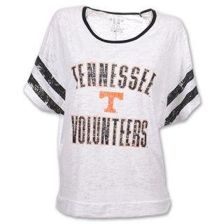 Tennessee Volunteers Burn Batwing NCAA Womens Tee Shirt