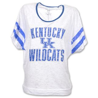 Kentucky Wildcats Burn Batwing NCAA Womens Tee Shirt