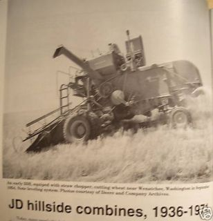 John Deere hillside combines 36 71 Green Magazine