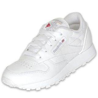Reebok Preschool Classic Leather White