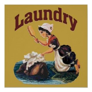 Laundry Room Sign Posters