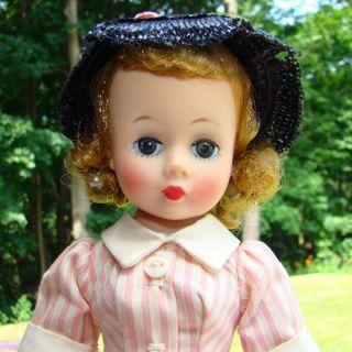 FAO Schwarz Pink Stripe Dress Madame Alexander EX Kathy Hipp