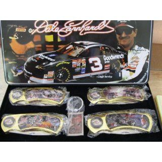 Dale Earnhardt Sr. #3 (5 Pc)   Knife Collection Set in Tin
