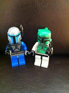 Lego Star Wars Boba Fett Custom Jango Mini Figure RARE 7144 6210 6209
