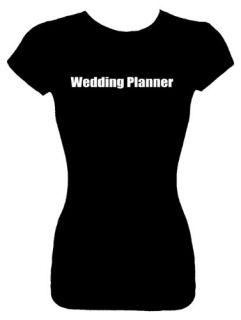 Juniors Wedding Fashion Top T Shirts (WEDDING PLANNER