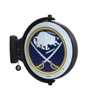 Authentic NHL Buffalo Sabres Hockey Revolving Wall Light Lamp