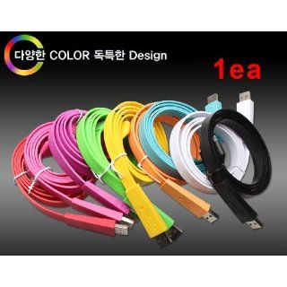 Iphone Vivid Color Cable #Red 20cm (30 Pin) 1ea Cell