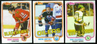 1981 1982 Topps Hockey Trading Cards Complete Set 906