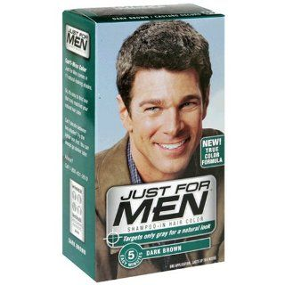 Just for Men Shampoo In Hair Color, Dark Brown H 45, 1
