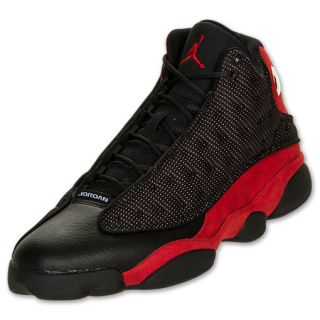 Mens Air Jordan Retro 13 Basketball Shoes Black