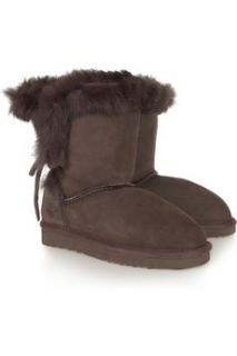 Mou Rabbit trimmed shearling boots