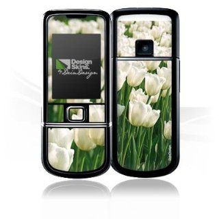 Design Skins for Nokia 8800 Arte   White Tulip Design