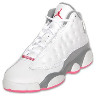Air Jordan Retro 13 Preschool Basketball Shoe White