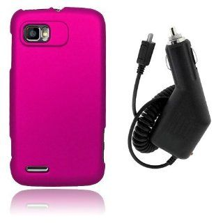 Motorola Atrix 2 MB865   Hot Pink Hard Plastic Case Cover