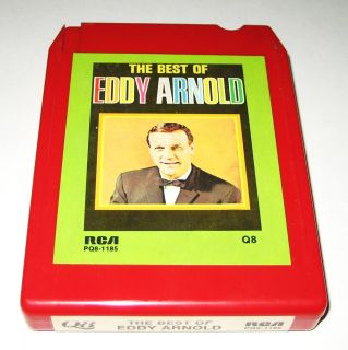 The Best of Eddy Arnold Quadraphonic 8 Track Tape Tested EXC Condition
