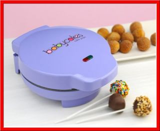 Purple Babycakes Nonstick Cake Pop Maker Donut Hole New