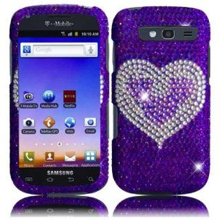 VMG Samsung Galaxy Blaze 4G Gem Bling Design Hard Case